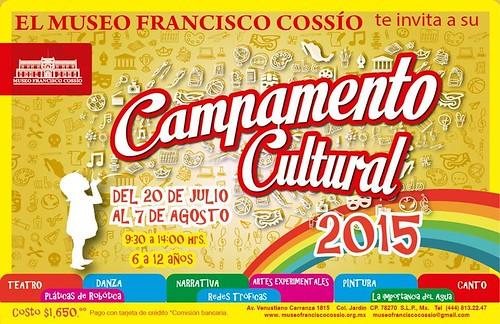 Campamento cultural infantil 2015 en el Museo Francisco Cossío
