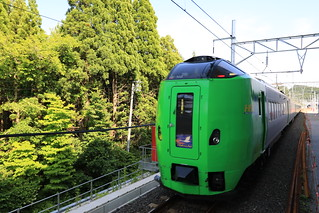 789系 スーパー白鳥28号 津軽今別駅出発