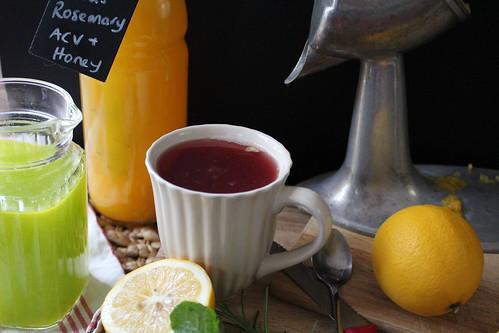 Port, Lemon & Honey Sleeper 'tea'