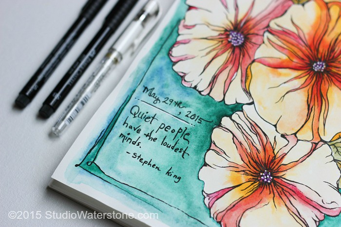 Art Journal: Quiet Minds