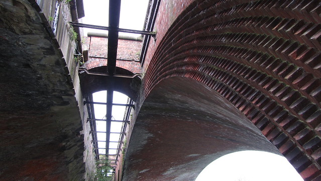 Railway bridge built by Isambard Kingdom Brunel