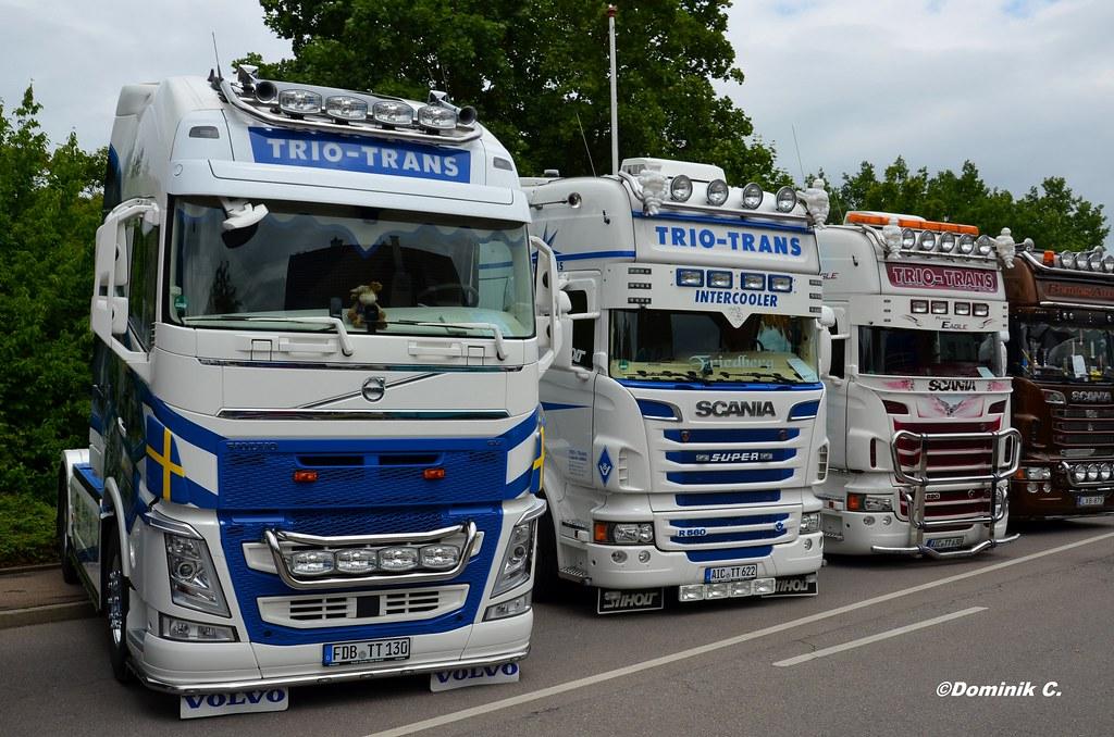 Volvo Fh Trio Trans Doniosrc Flickr