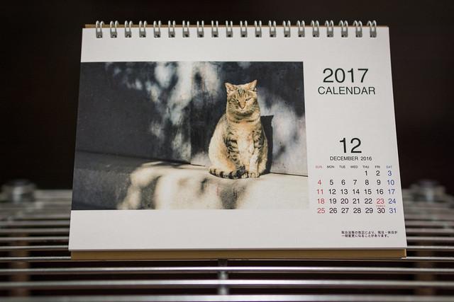 自分で撮影した写真でカレンダーを作る