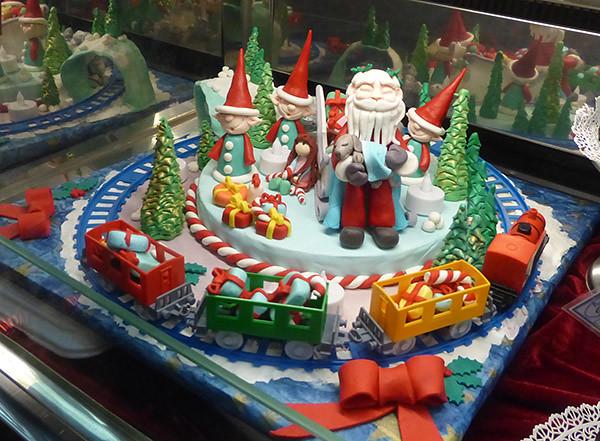 le gâteau du Père Noël