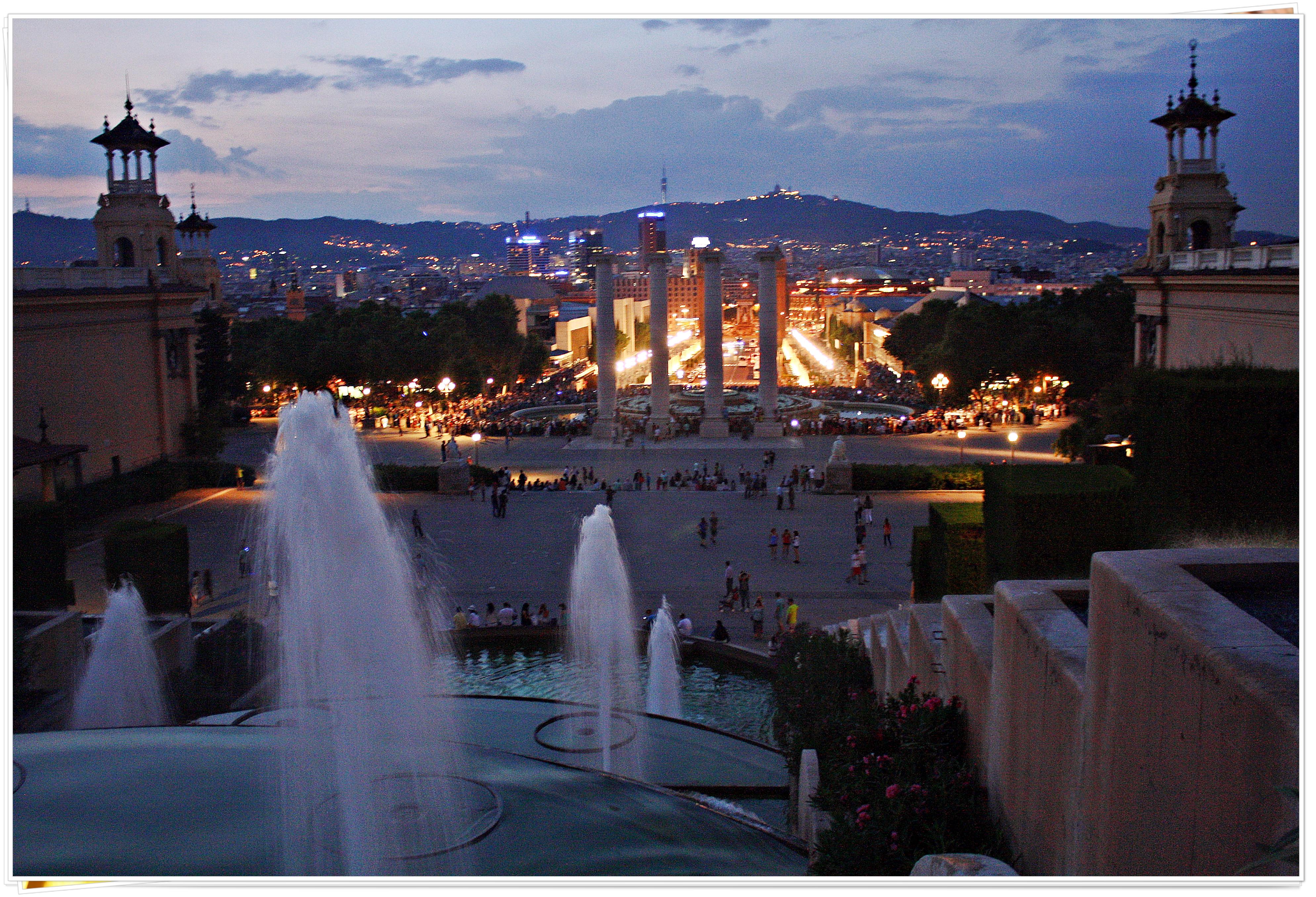 Parc de Montjuic - Barcelona, Spain 2013