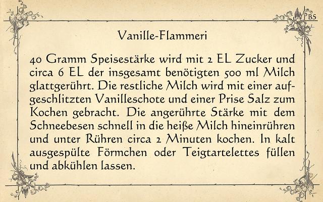 "Grundrezept: einfaches Vanille-Flammeri (Vanille-""Pudding"") selbstgemacht"