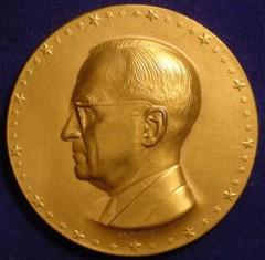 1949 Truman Inaugural Medal obverse