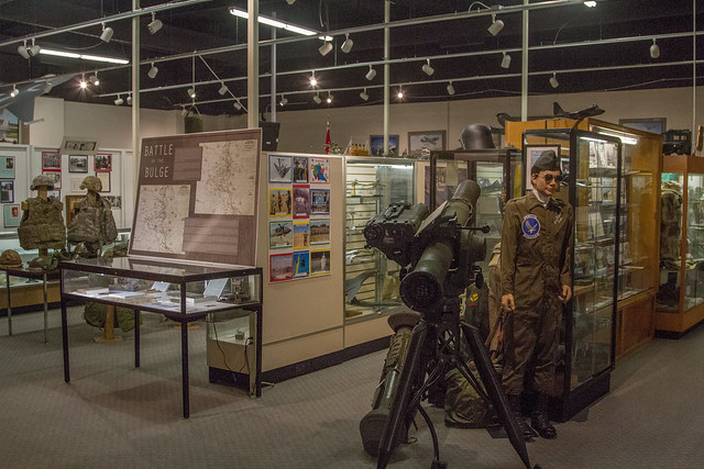 Museum Exhibits Kansas Guard