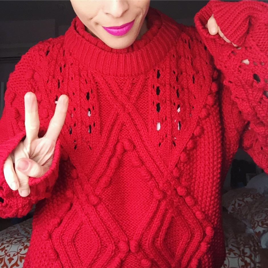jersey rojo romwe