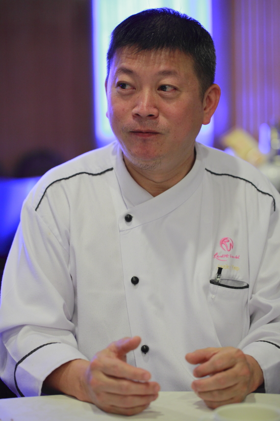 Chef Jacky Yap Genting Palace