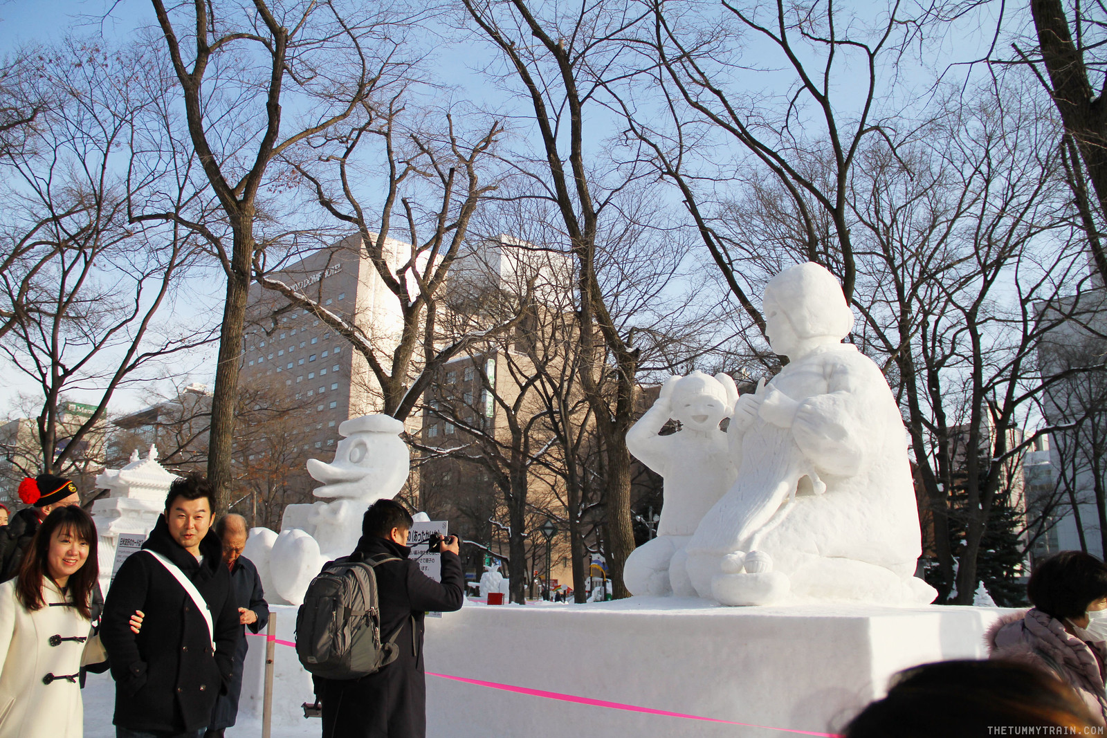 32876901676 6f7e42110d h - Sights, Sounds, and Smells at the 68th Sapporo Snow Festival at Odori Park