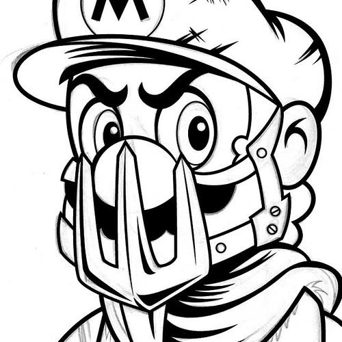 Mad Mario Mario Supermario Supermariobros Nintendo N