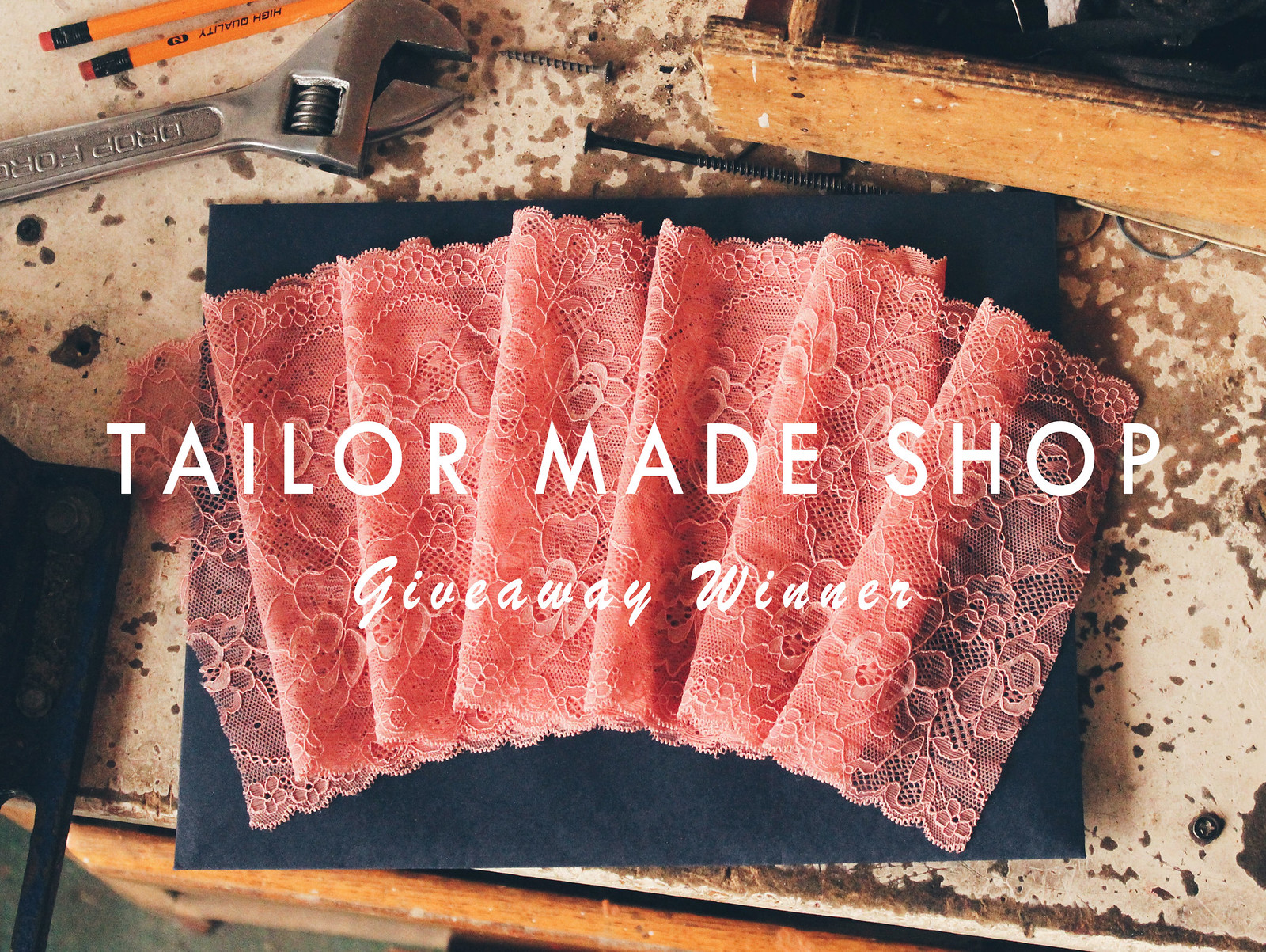 Tailor Made Shop Giveaway Winner