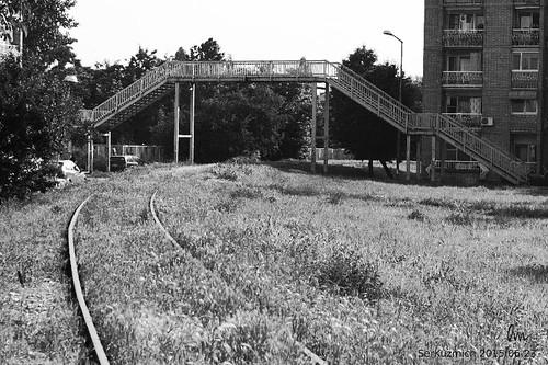 The  Railway City. The Iron Street / Железнодорожный город. Железная улица