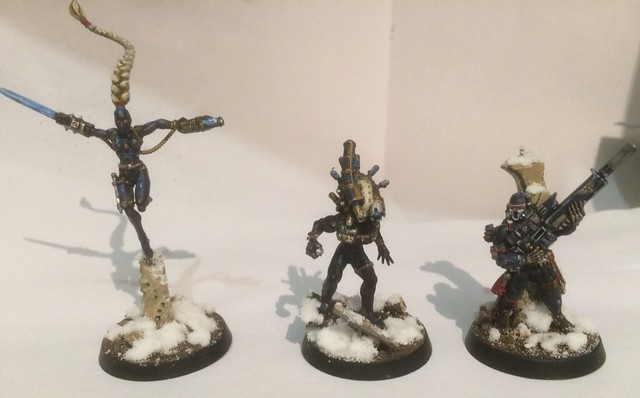 Vindicare, Callidus, and Culexus Assassins
