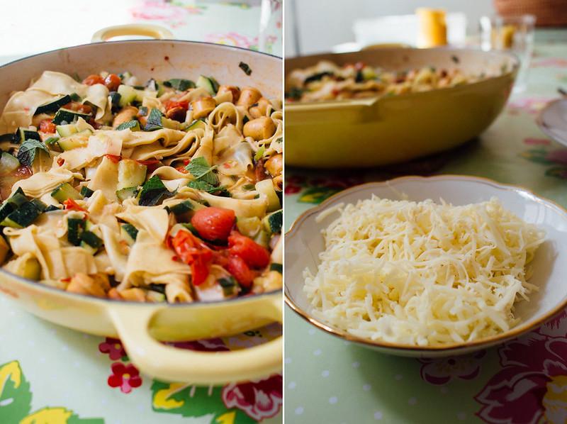 bratwurst lasagnetti