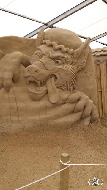 Swinemünde Sand Skulpturen Festival 201572