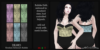 ~SongBird~ Kracken Swimsuit : Bubble | by ~SongBird~ In Second Life