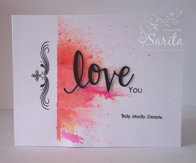 Valentine's card 1c