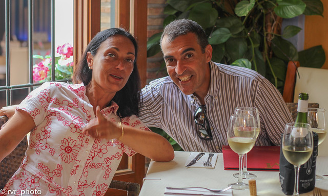 Maria y Rafael en Nerja