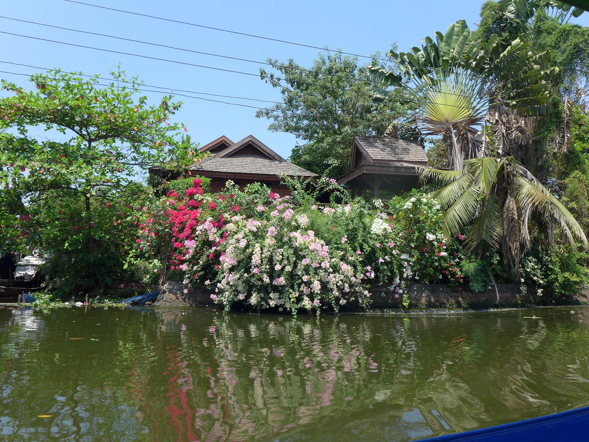 Записки из прошлогодних путешествий. Прогулка по Чао Прайе и каналам Бангкока
