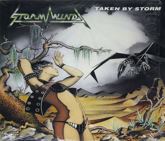 "STORMWIND TAKEN BY STORM 12"" vinyl LP"