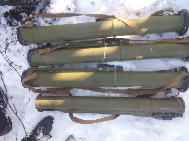 СБУ виявила дві схованки з боєприпасами у районі проведення АТО