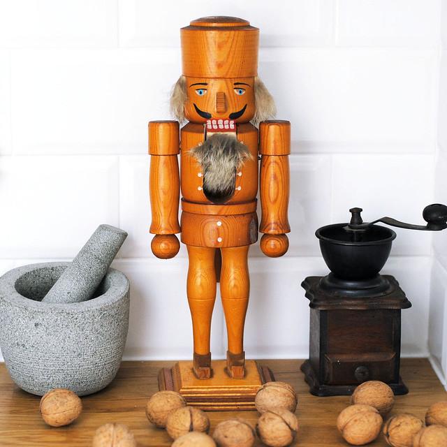 Vintage nutcracker