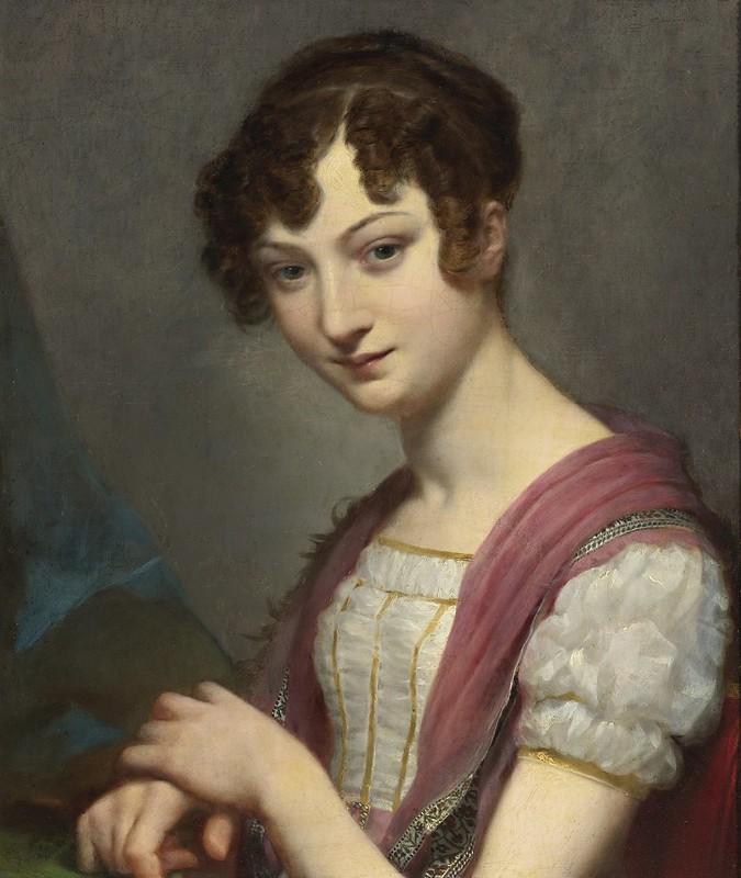 Pierre-Paul Prud'hon - Lavinie Barbier-Walbonne, later Baronne Darriule
