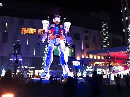 Gundam (mobile suit) in Odaiba