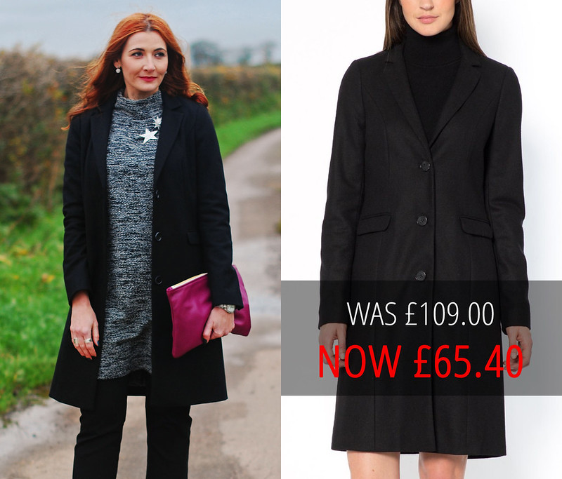 Summer sales picks | La Redoute tailored balck coat