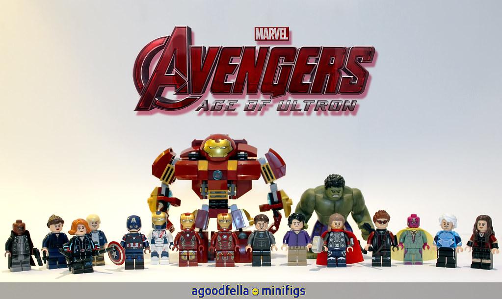 Lego Iron Man Mark 43 Avengers AoU v.1 [GROU...