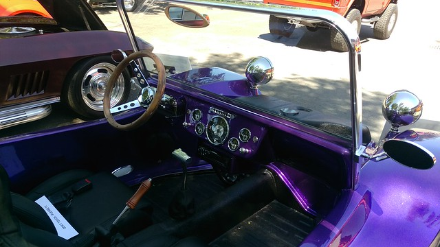 1969 VW Dune Buggy interior