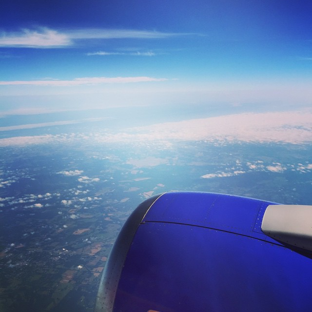 Kansas City, here I come. #latergram