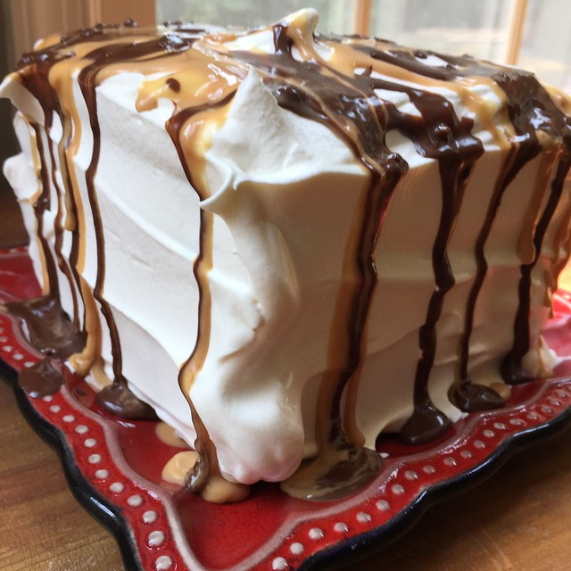 Mrs. Fields Secrets Ice Cream Sandwich Cake