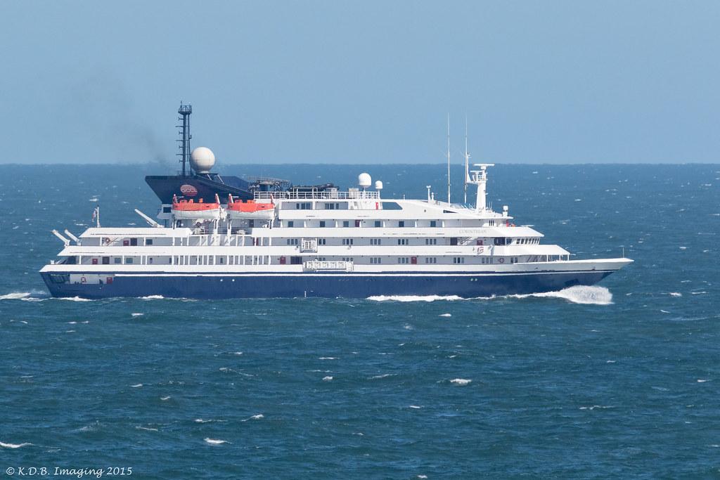 Cruise Ship Corinthian  Cruise Ship Passing Strumble Hd