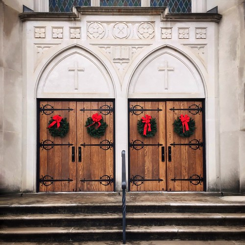 One Thing I Like About Churches, Their Christmas Decorations