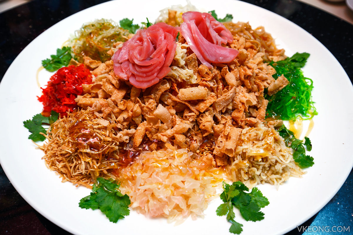 Prosperity Yee Sang with Tuna