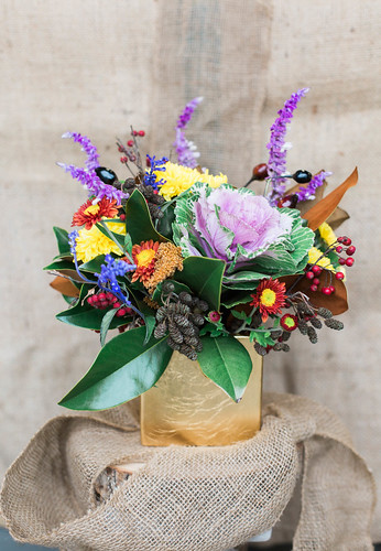 Local_Color_Flowers_Thanksgiving_arrangements_photo-1 | by Local Color Flowers Baltimore