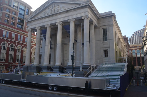Gallier Hall Carnival prep