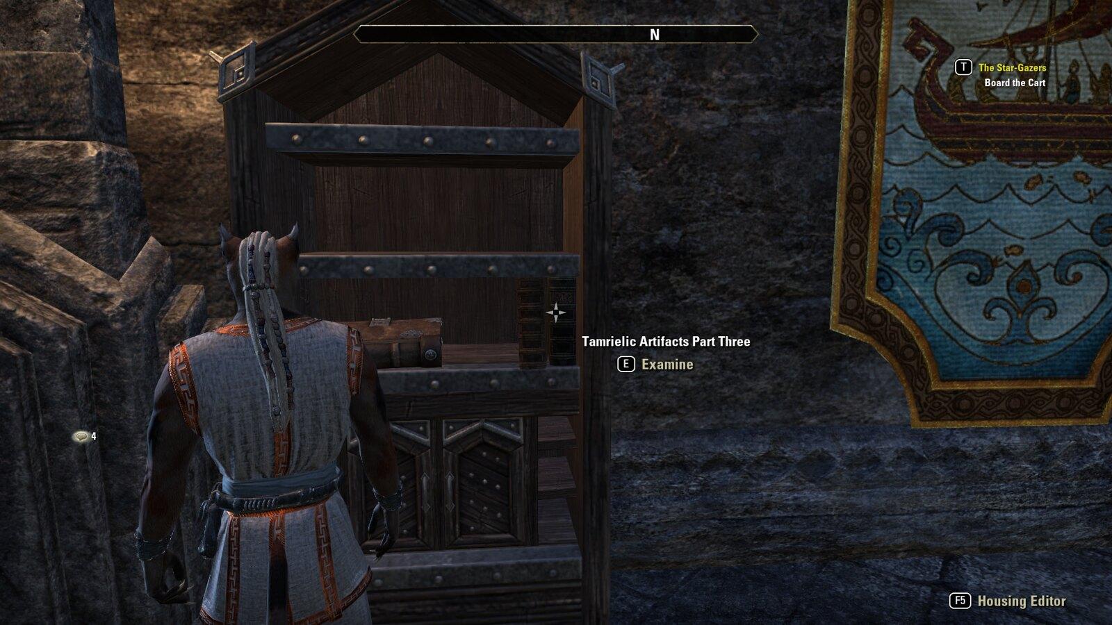 Homestead - placing books in shelves — Elder Scrolls Online