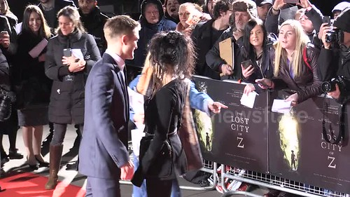 #28 Robert Pattinson & FKA Twigs Red Carpet PremiereThe Lost City of Z