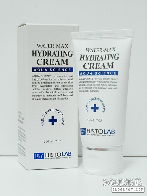 histolab water max hydrating cream