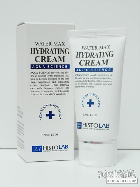 histolab water max hydrating cream