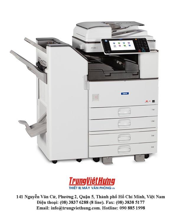Tiến trình để bảo dưỡng máy photocopy Ricoh MP3053