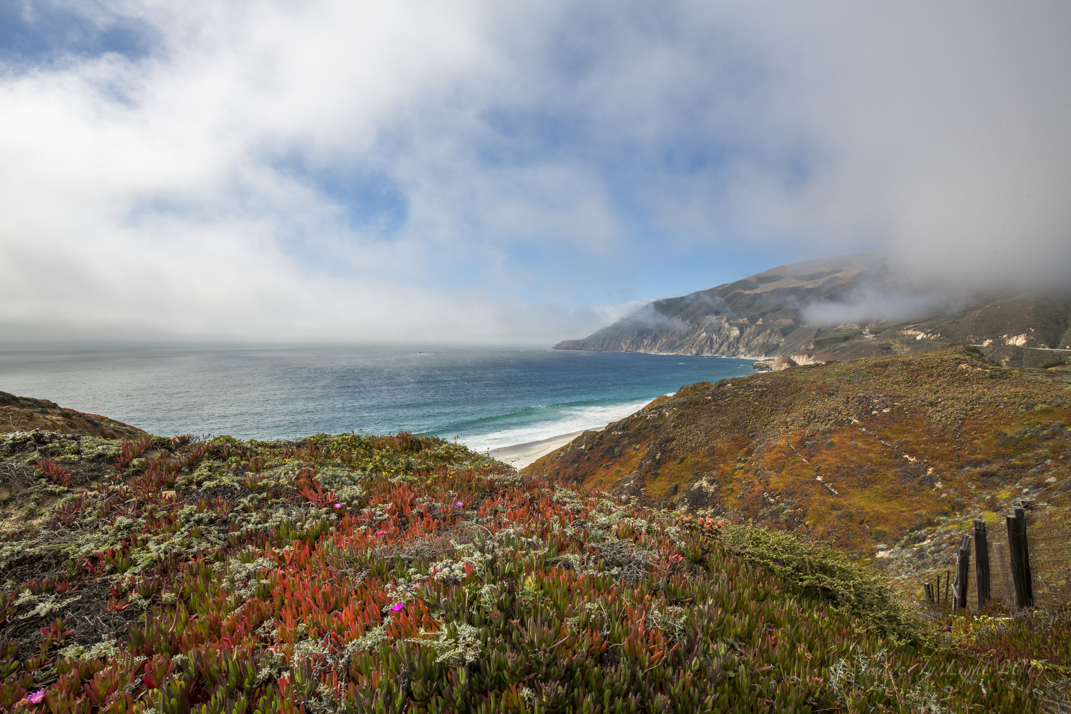 Lifting Fog, Big Sur