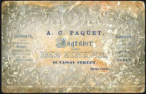 A.C. Paquet Business Card