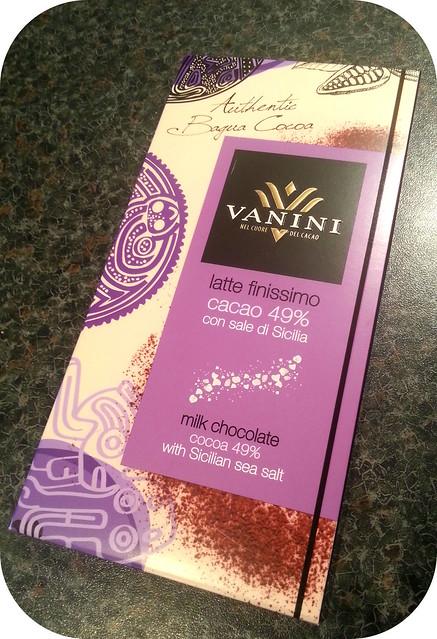 Vanini Milk chocolate with salt