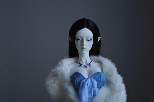 Rhiannon in blue