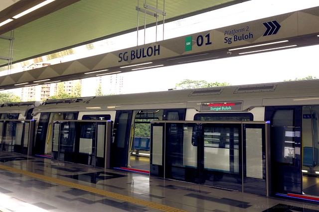 Joyride On The New Sungai Buloh Kajang Mrt Line An